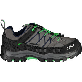 CMP Campagnolo Rigel WP Low Trekking Shoes Kids graffite-verde fluo